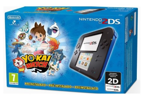 PACK NINTENDO 2DS YOKAI WATCH